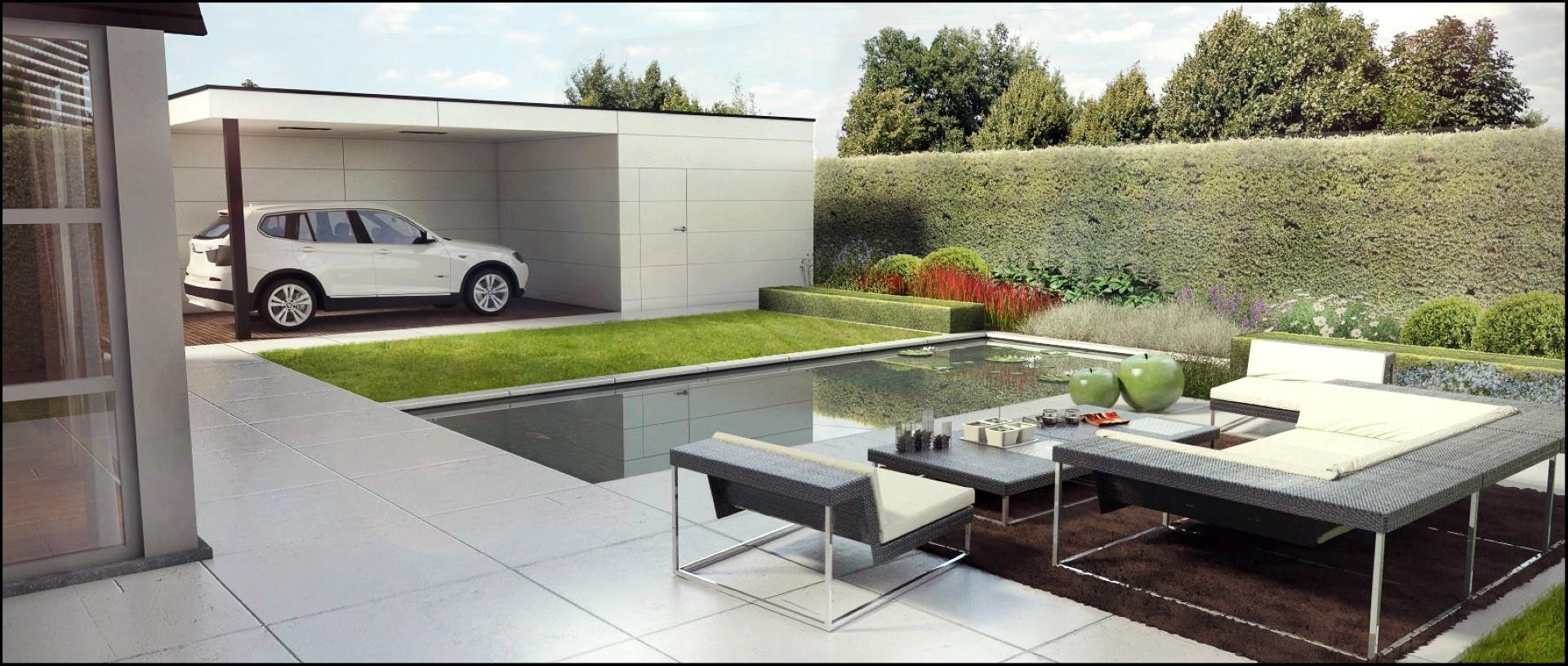 Extreem ECO Tuinarchitectengroep | 3D projecten | Moderne tuin Zottegem #QK94