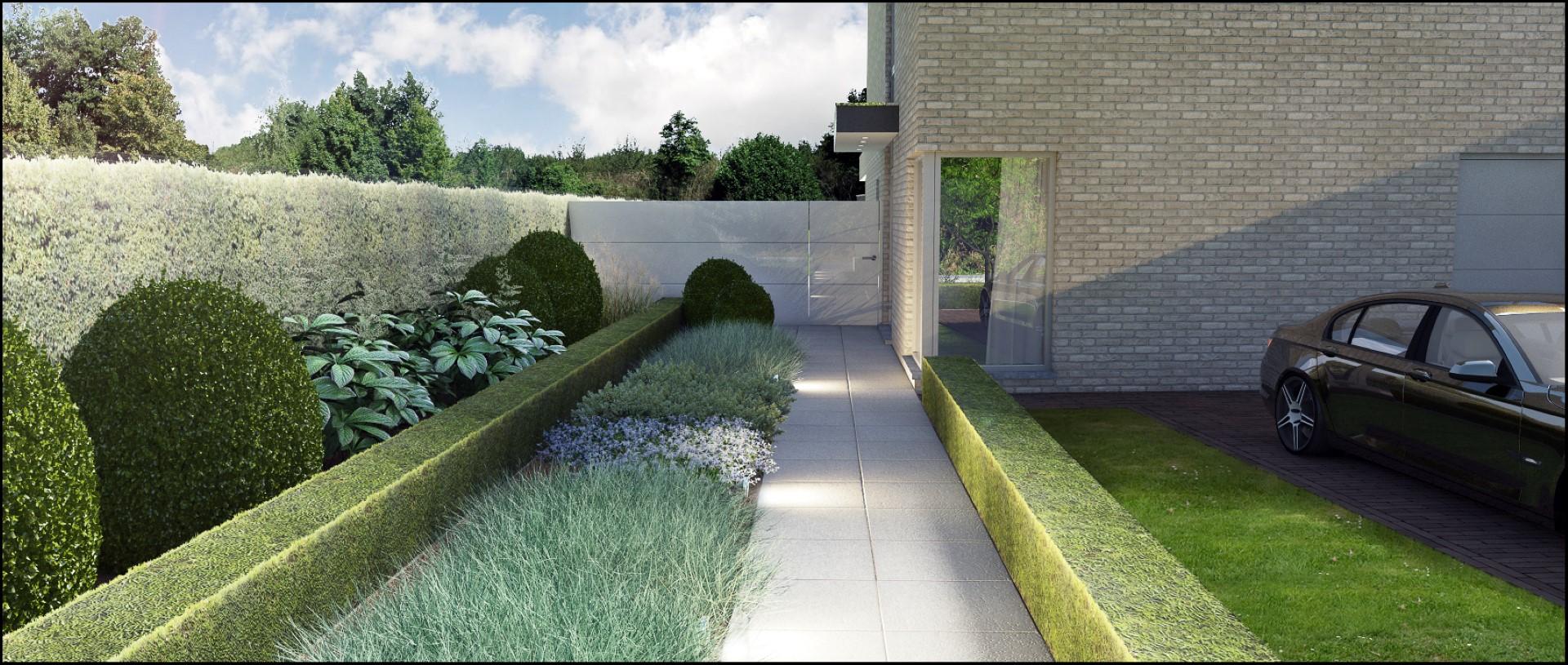 ECO Tuinarchitectengroep : 3D projecten : Voortuin