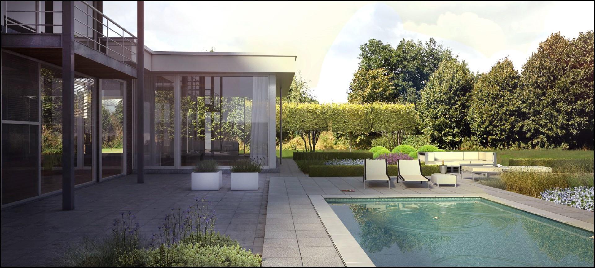 Eco tuinarchitectengroep 3d projecten tuinontwerp for 3d tuin ontwerpen