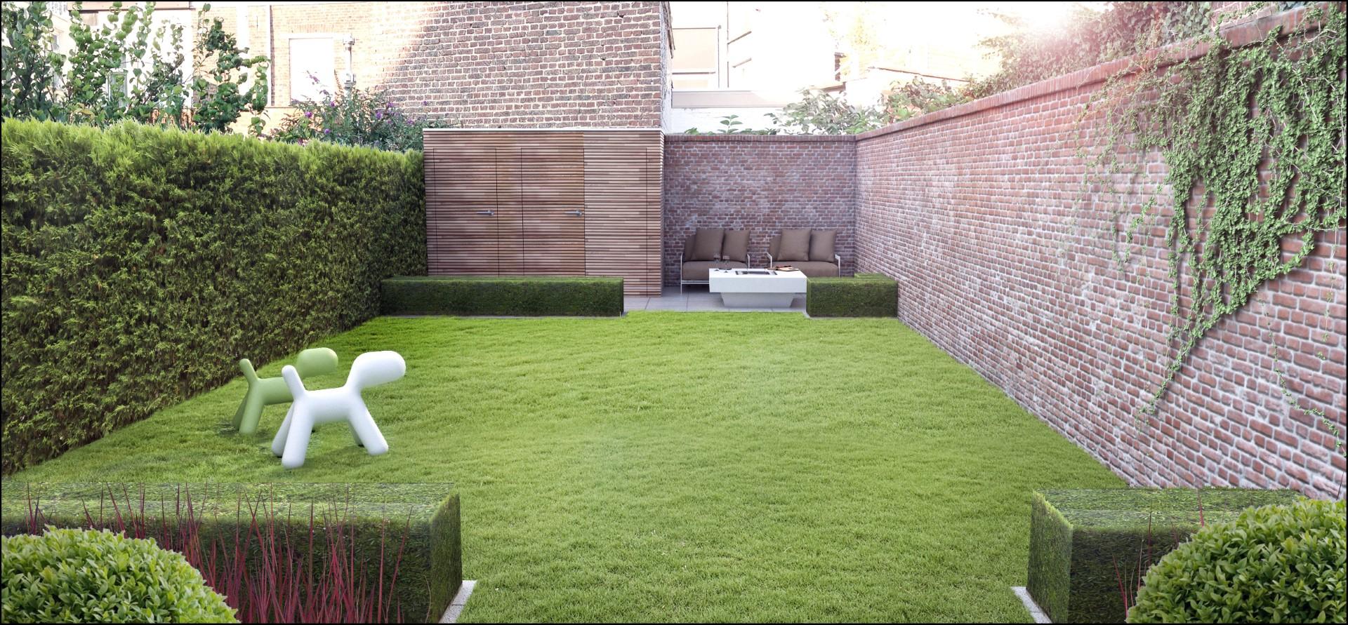 Eco tuinarchitectengroep 3d projecten kleine stadstuin for Strakke kleine tuin