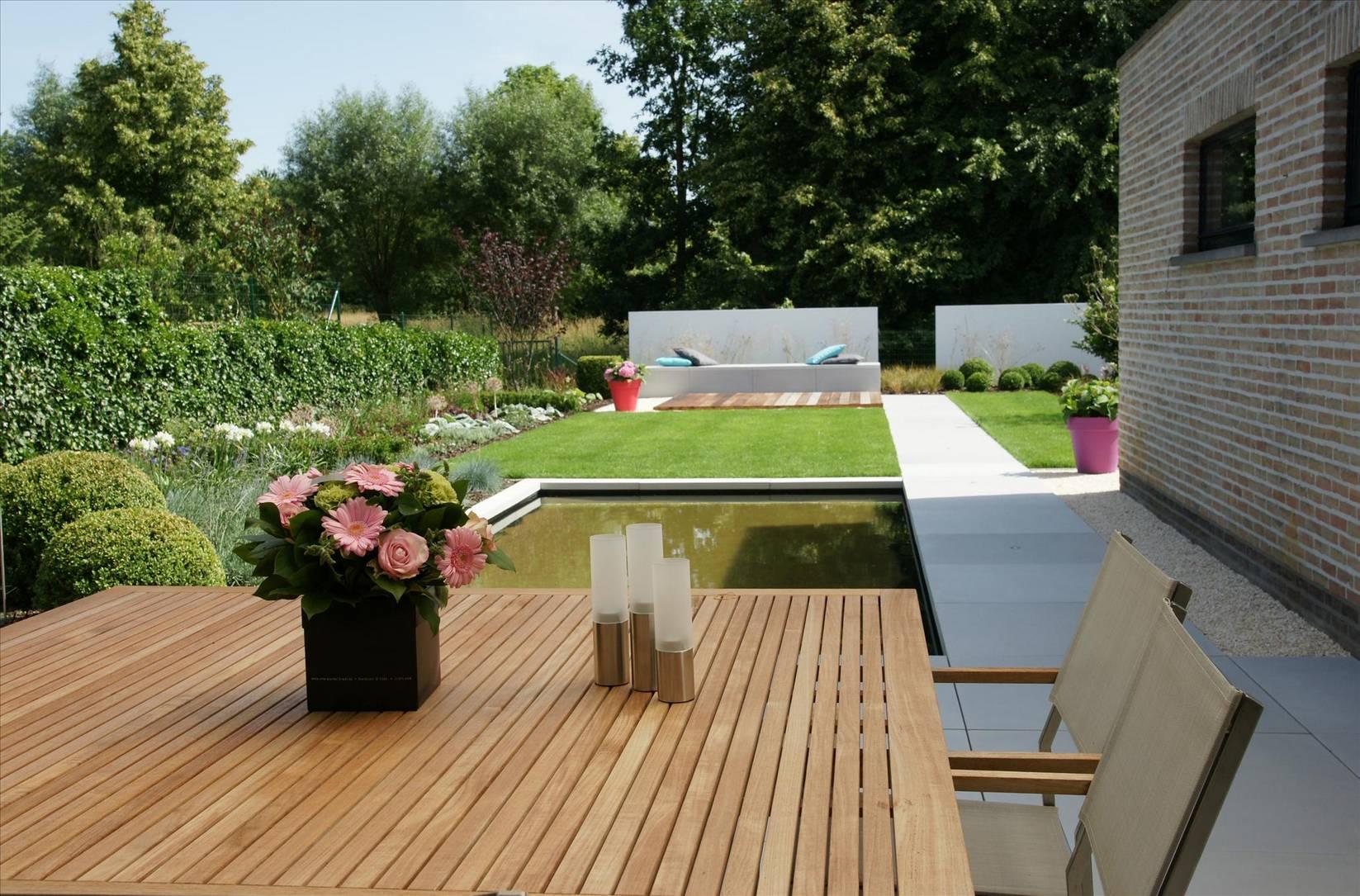 Eco tuinarchitectengroep projecten moderne lounge tuin - Landschapstuin idee ...