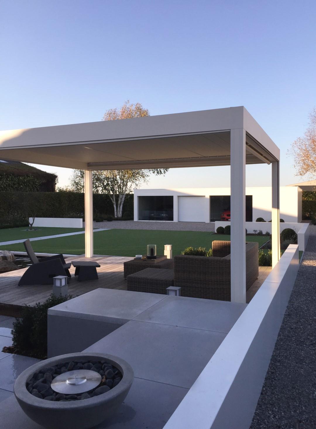 Eco tuinarchitectengroep projecten moderne tuin west vlaanderen - Tuin en zwembad design ...