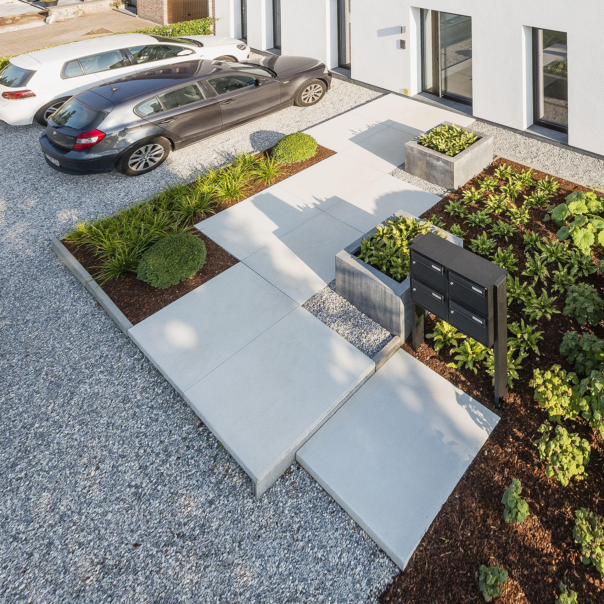Eco tuinarchitectengroep projecten tuinaanleg nabij for Moderne waterpartijen tuin
